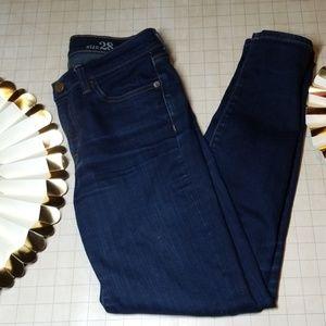 J. Crew Toothpick Jeans size 28